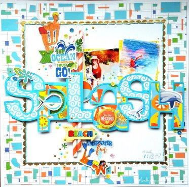 Carte Belle - Splash