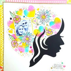 February Treasured Memories Page Kit