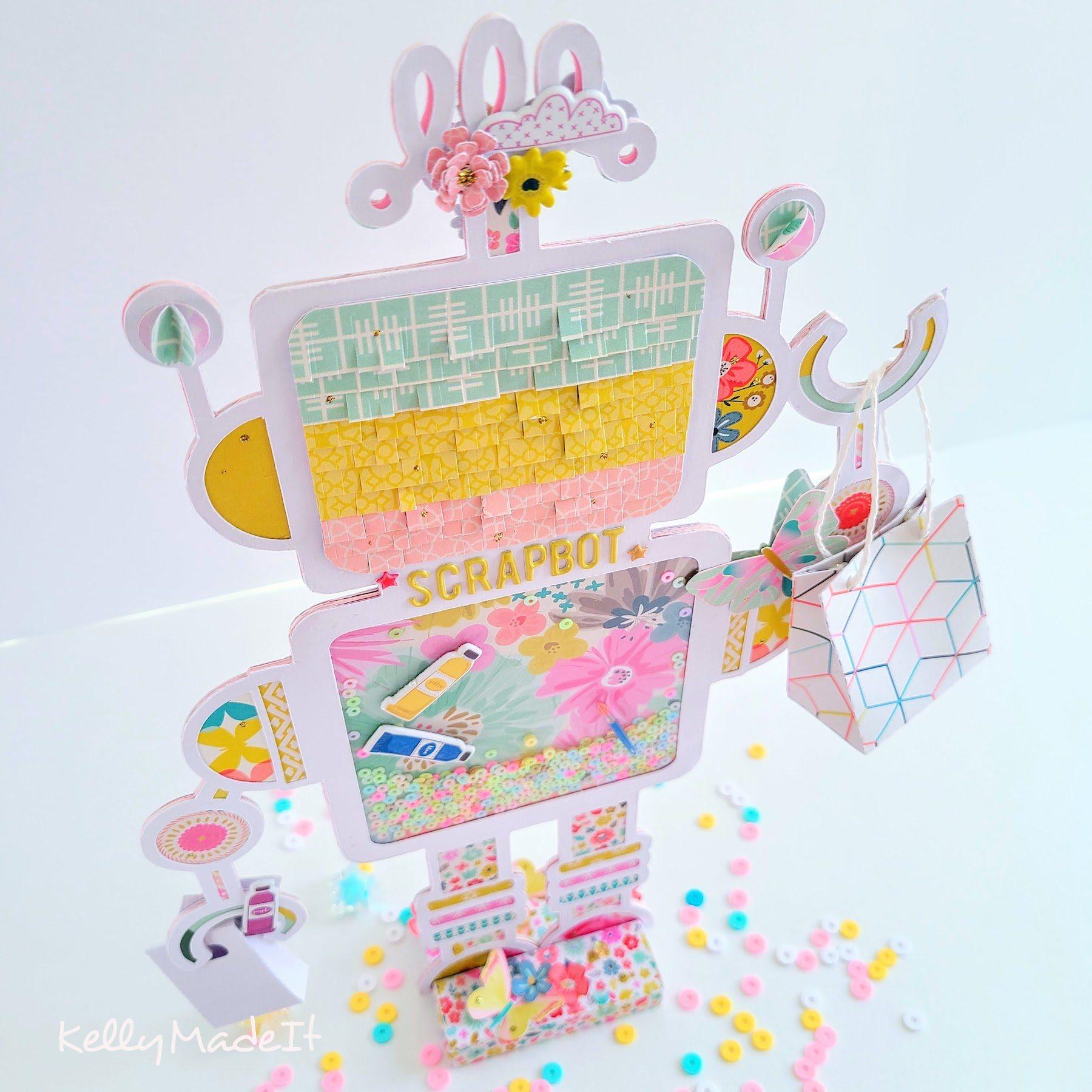 KellyMadeIt Robot Mini Album 2