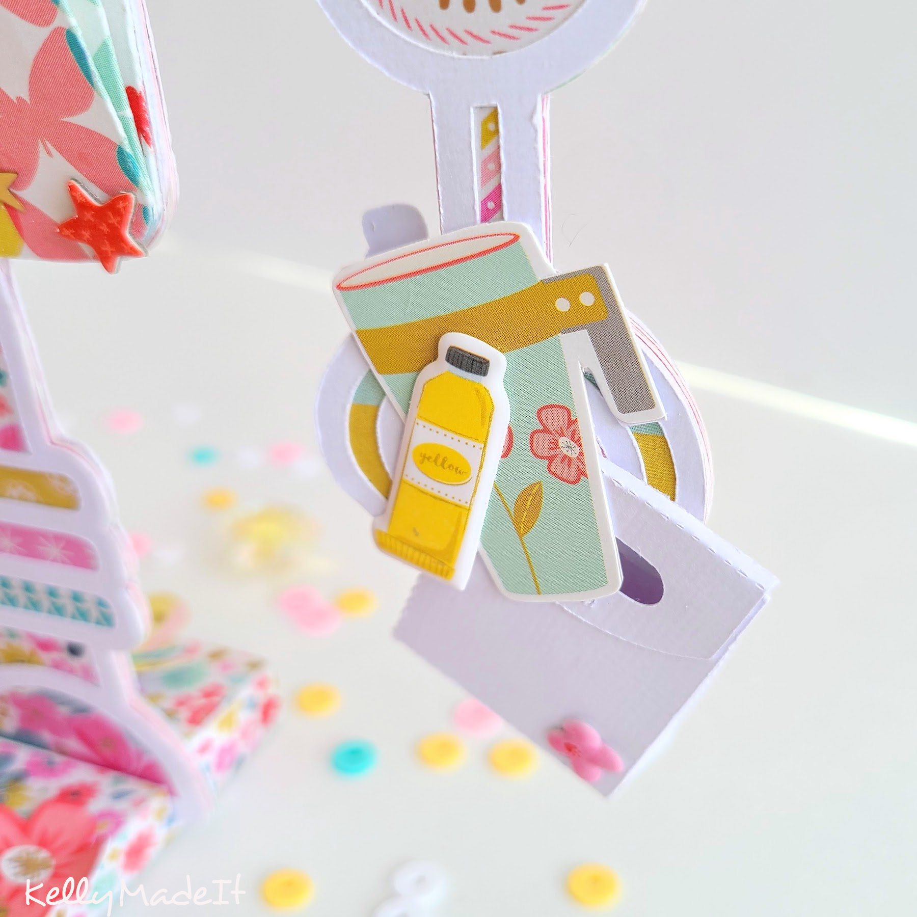 KellyMadeIt Robot Mini Album 4