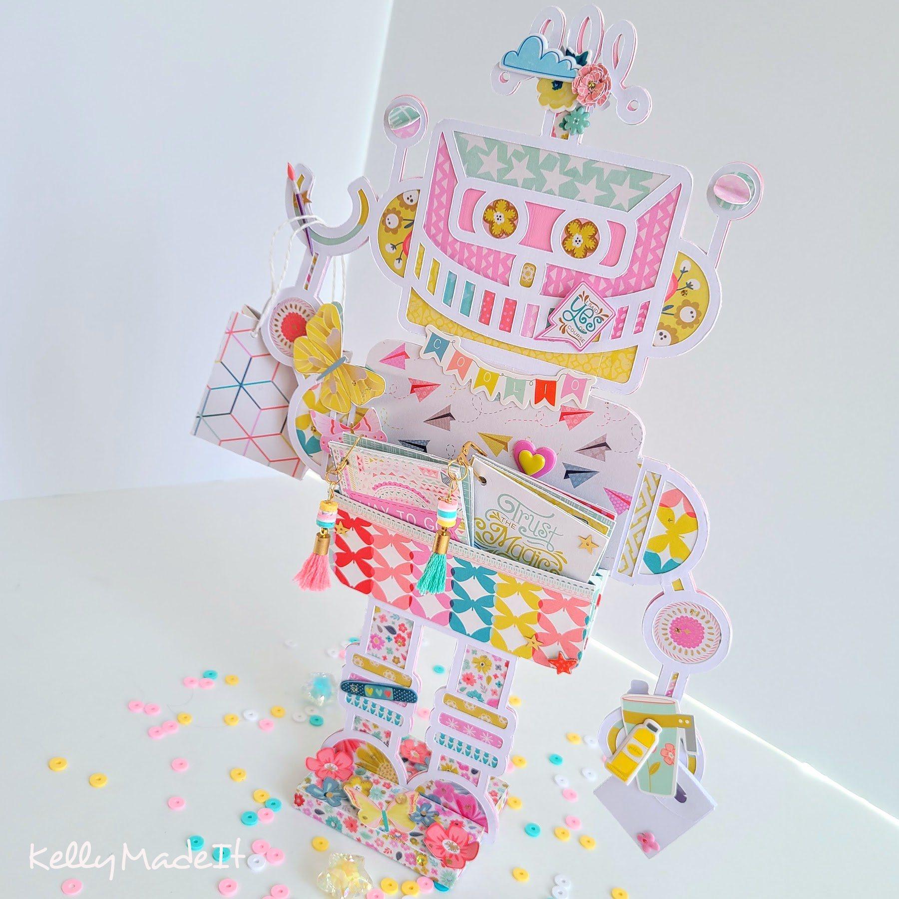 KellyMadeIt Robot Mini Album 7