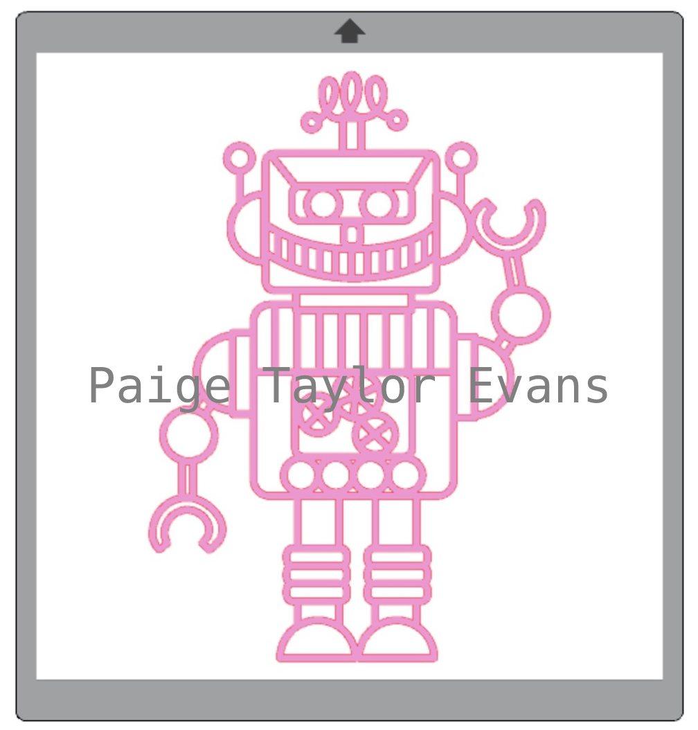 Robot Cut File by Paige Taylor Evans