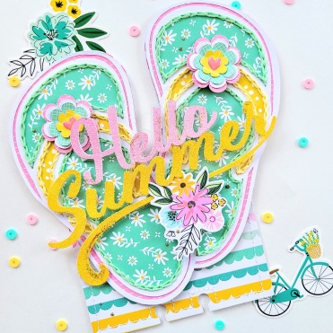 Card 4 Hello Summer