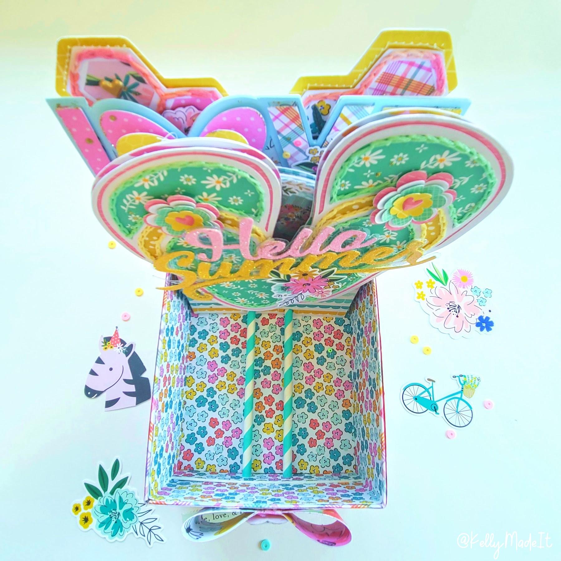 KMI-Memorybox Card 4 Hello Summer 2