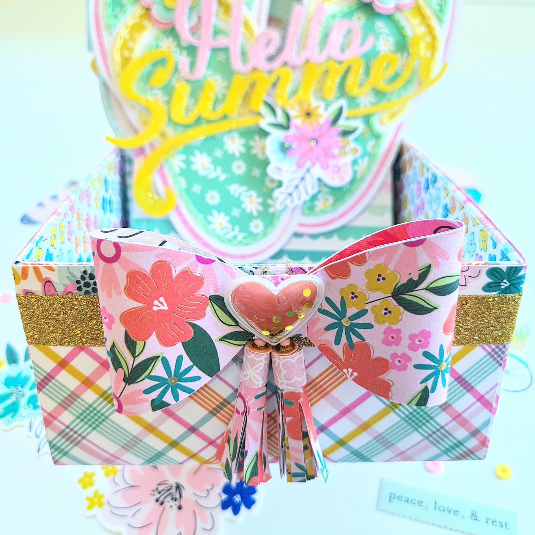 KMI-Memorybox Card 4 Hello Summer 3