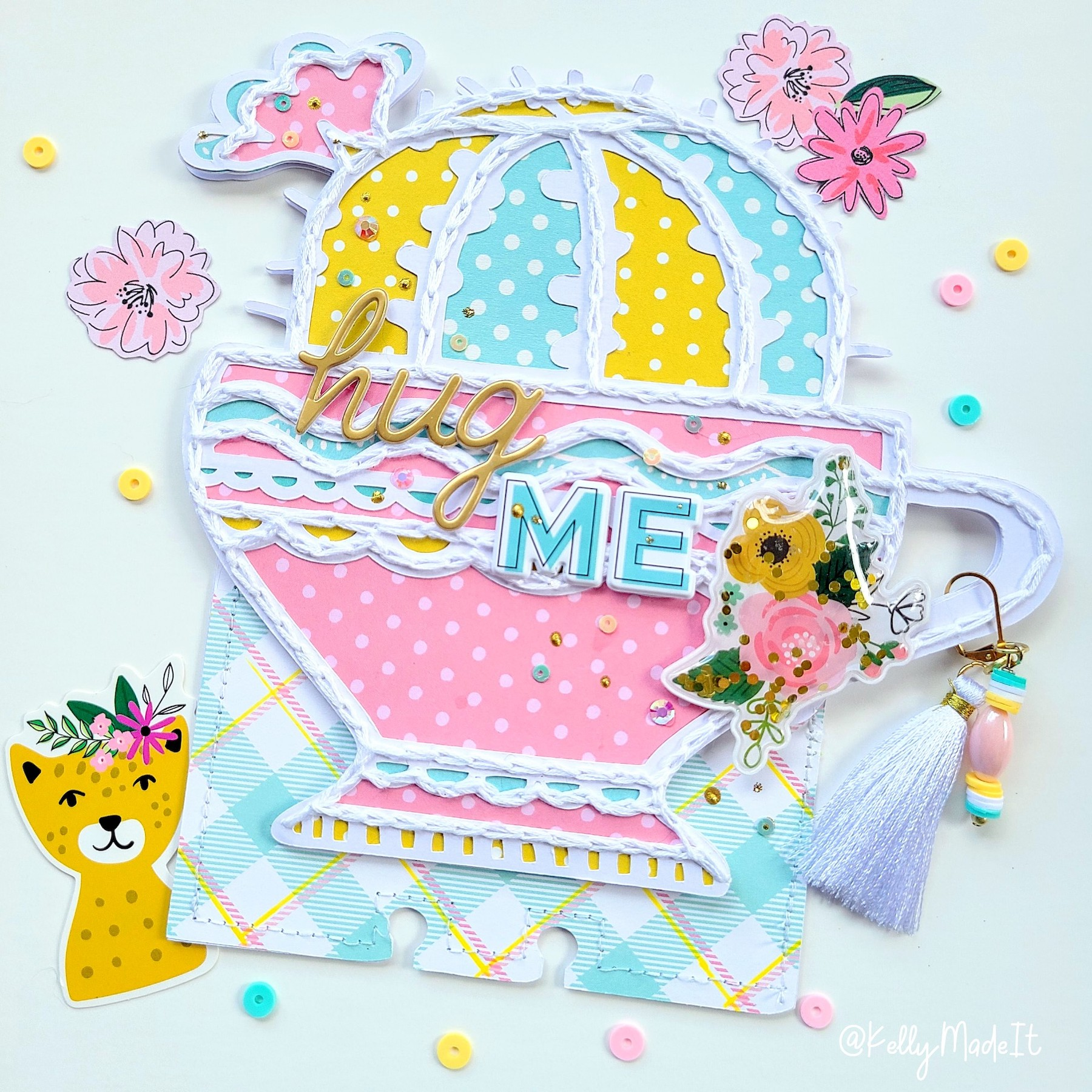 Kelly Made It- Memorydex Card 8 Hug Me